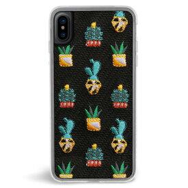 ZERO GRAVITY ゼログラビティ iPhone X 対応 ケース SANTA FE EMBROIDERED 刺繍 クリア【正規代理店品】【メール便可】【RCP】