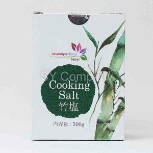 減塩、熱中症対策、天然ミネラル 竹塩500g