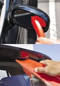 【JellyBLADEジェリーブレード】正規輸入元正規品水滴除去が簡単!さっとなぞるだけで手を濡らさず車の水滴を拭き取れる!洗車拭き取り雪払い(送料無料)
