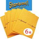 あす楽♪【シャムワウ ラージ6枚セット】 万能クロス シャムワオ! 6枚セットを2つ買うと、グリーンシャムワウプレゼント! 掃除、窓ふ…