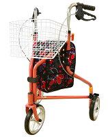 トライウォーカー歩行器歩行車高齢者大きな車輪折りたたみブレーキ調節エーアイジェイプレゼントに