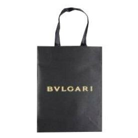 ★ショップバッグ★ブルガリN紙袋1枚 21×28×9(1枚)