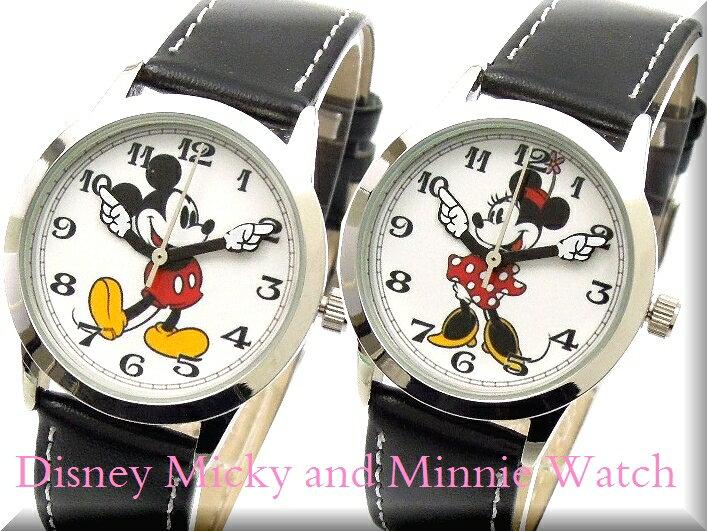 Disneyディズニー腕時計復活ミッキーマウスとミニー腕時計 レディース ポスト投函 送料無料 ! プレゼント お中元 ギフト にもビアリッツ