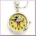 Disney ディズニー 時計 登場!【ミッキーマウス】 キーホルダーウォッチ 時計送料無料 ポスト投函配送 ! ギフトにも ビアリッツ