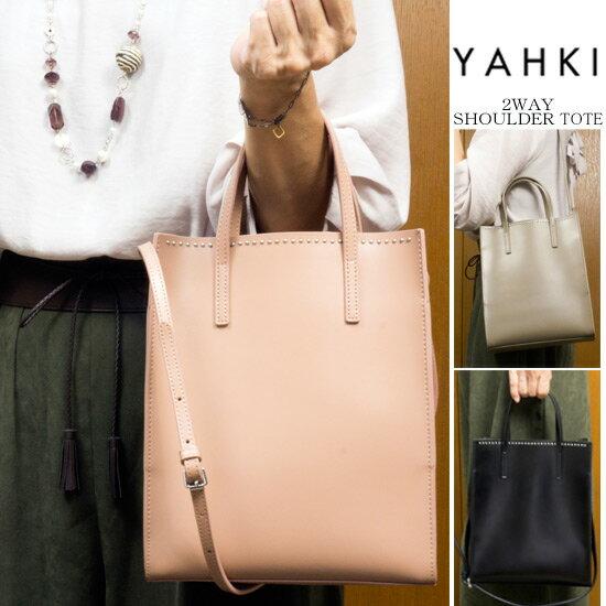 【SALE セール 30%OFF】【送料無料】YAHKI/ヤーキ 2WAYトートバッグ(ミドルサイズ)【RCP】fs04gm