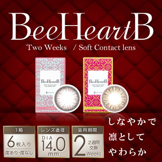 ビーハートビー cute view 14 ルースシフォン 2 week disposable colored contact lenses contact lenses contact