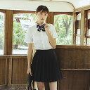 制服 コスプレ 大きいサイズ 女子高生 高校生 プリーツスカート リボン 3点セット レディース JK セーラー服 コス…
