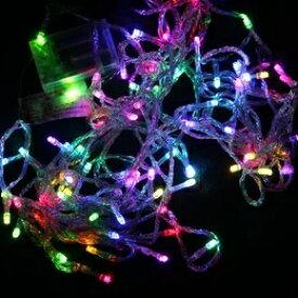即納 【送料無料】乾電池式/LEDイルミネーション LED 80球10M カラーはホワイト/ブルー/ミックス/黄色など LED ライト電飾 オーナメント/カラー★ハロウィン 結婚式、誕生日、応援ボード、ナイトクラブ、新年会などの装飾品