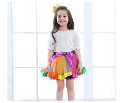 バニエチュチュスカートスカートダンス衣装キッズベビー服キッズボリュームチュールスカートチュチュスカートダンス衣装ステージ衣装カラーパニエスカートコスチュームチュチュスカートヒップホップbubbleskirt運動会kids