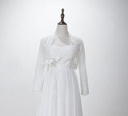 ウェディングドレスエンパイアドレス花嫁春夏編み上げ妊娠さんもOKウエディングドレスホワイト刺繍ドレスエンパイアドレスパーティードレス・結婚式・二次会・披露宴・演奏会・謝恩会ウエディングドレス