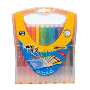 BIC(ビック)ビックキッズカラーペンレインボーケース12色WI1400-0014C1