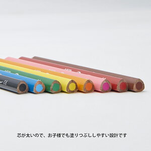 BIC(ビック)ビックキッズスーパーソフト色鉛筆8色WI1300-0874JP