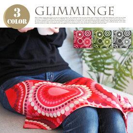 GLIMMINGE(グリミンゲ)Handkerchief(ハンカチ) クォーターリポート(QUARTER REPORT)全3色(ブラック・グリーン・レッド)