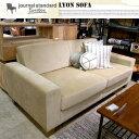 LYON SOFA 2P(リヨンソファ2P) journal standard Furniture(ジャーナルスタンダードファニチャー) カラー(カーキ・ベージ...