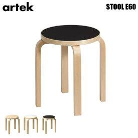 スツールE60 StoolE60 全6色 アルテック Artek アルヴァ・アアルト Alvar Aalto 4本脚 チェア 木製 椅子 北欧家具 スタッキング フィンランド ホワイト ブラック ムーミン ミー スナフキン ナチュラル シンプル ベーシック コンパクト ギフト 送料無料