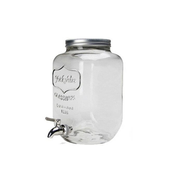 【Ball メイソンジャー】Yorkshire Mason Jar Drink Dispenser(ヨークシャーメイソンジャードリンクディスペンサー) 2959 /ボール Mason jar アメリカ Ball社 正規品 ガラス 保存ビン