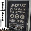 Art Frame New york(アートフレーム ニューヨーク) A3 size 黒フレーム TR-4197(NY) ARTWORKSTUDIO(アートワークスタジオ) 送料無料