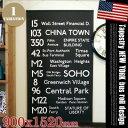 バスロールサイン ポスター ニューヨーク BusRoll Sign POSTER NEW YORK IBR-51709 90x152cm タペストリー ポスター …