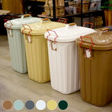 屋内外で使用可能!嬉しい3年間保証付PALE×PAILDUSTBOX(ペールペールダストボックス)60Lごみ箱全6色(チャコールグレー、グリーン、ベージュ、ブルー(グレー、ブラウン)、ホワイト)