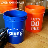 LOWES/HOMERS5gallon(ロウズ/ホーマーズ5ガロン)バケツfromU.S.A