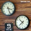 40年代ミリタリークロックをモチーフにしたウォールクロック! TRAVIS WALL CLOCK(トラヴィスウォールクロック) 掛時計 BIMAKES(ビメイク...
