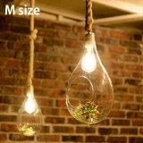 ハンギングテラリウムをモチーフにしたアクセサリー照明。BotanicHangingLightM(ボタニックハンギングライトM)ペンダントライトAPE-021WH