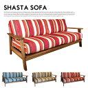 WOOD(無垢)×ファブリックSOFA♪ SHASTA SOFA(シャスタソファ) BIMAKES(ビメイクス) 全3色(オーシャン、サンセット、アース) 送料...