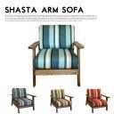 60年代アンティークチェアをモチーフしたリビングチェア!SHASTA 1P SOFA(シャスタ1Pソファ) BIMAKES(ビメイクス) 全3色(オーシャン、サ...