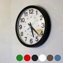 24-HOUR ROUND WALL CLOCK(24アワーラウンドウォールクロック) 壁掛け時計・卓上時計兼用 TSI-001BK・TSI-002WH・TSI...