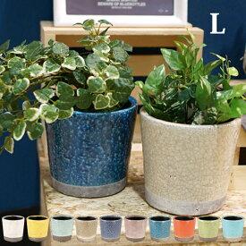 Color glazed pot (カラーグレーズドポット) Lサイズ 植木鉢 DULTON(ダルトン) 全10色