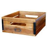 深みのある古木を使用し安定感のあるWOODBOX!OLDTEAKBOX(M)(オールドチークボックスM)BIMAKES(ビメイクス)