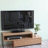 スペース・用途に合わせて使えるテレビ台!ウォールナット&スチールテレビボード【送料無料】【walnutinte】