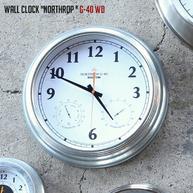 壁掛け時計 幅405mm ウォールクロック ノースロップ G-40 WALL CLOCK NORTHROP G-40 WD ダルトン DULTON K725-926WD ウォールクロック 時計 かけ時計 電池時計 スチール ガラス シンプル おしゃれ 男前インテリア インダストリアル 無骨