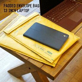 デスクグッズ パデッド エンベロープ バッグ 13インチ ラップトップ Paded envelope bag For 13 inch laptop ダルトン DULTON Y925-1247LT13 ステーショナリー タブレットラップトップバッグ タブレットケース 収納可能参考サイズ MacBook Pro 13 アメリカン おしゃれ