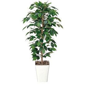 生い茂る葉が爽快感を醸し出す! フィカスベンジャミン120 光触媒 イミテーショングリーン 日本製 送料無料