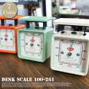 Desk scale 計量器 100-261DULTON (ダルトン) 全7色(Ivory/Red/Yellow/Sax/Mint green/Orange/B...