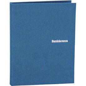 セキセイ SEKISEI レミニッセンス ポケットアルバム ブルー (カードサイズ 80枚) XP-80C-BU[XP80C]