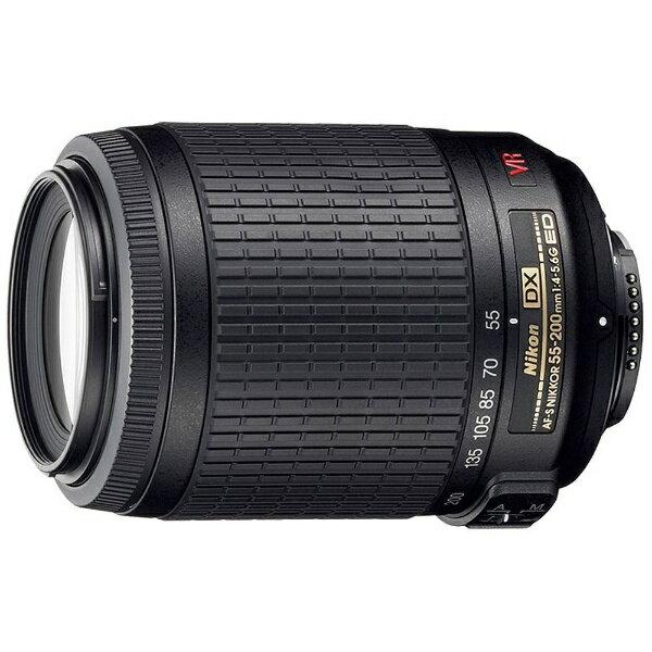 ニコン Nikon カメラレンズ AF-S DX VR Zoom-Nikkor 55-200mm F/4-5.6G IF-ED【ニコンFマウント(APS-C用)】[AFSDXVR55200F456G]