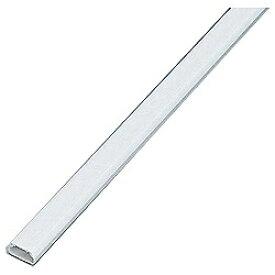 エレコム ELECOM フラットモール テープ付 (長さ1m×幅17.0mm・ホワイト) LD-GAF1/WH[LDGAF1]