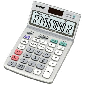 カシオ CASIO ジャストタイプ電卓 (12桁) JF-120GT-N[JF120GTN]