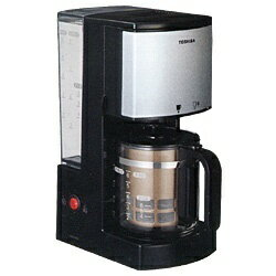 東芝 TOSHIBA HCD-6MJ コーヒーメーカー ブラック[HCD6MJ]