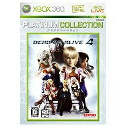 テクモ DEAD OR ALIVE 4 (プラチナコレクション)【Xbox 360】