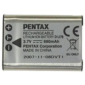 ペンタックス PENTAX リチウムイオンバッテリー D-LI78[DLI78]