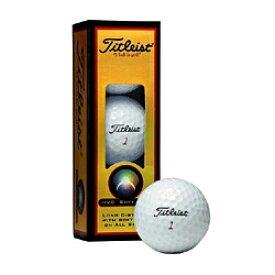 タイトリスト Titleist ゴルフボール HVC SOFT FEEL ホワイト 1HVSF-J-3P [3球(1スリーブ) /スピン系]【オウンネーム非対応】