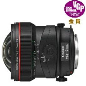 キヤノン CANON カメラレンズ TS-E17mm F4L ブラック [キヤノンEF /単焦点レンズ][TSE17MMF4L]