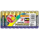 東芝 【単4形】20本 アルカリ乾電池 「アルカリ1」LR03AG 20MP[LR03AG20MP]