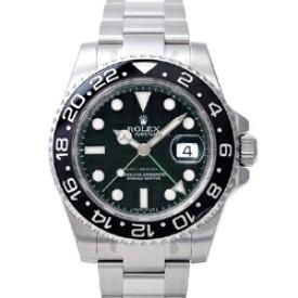 ロレックス ROLEX GMTマスターII(GMT-Master) 116710LN ブラックベゼル