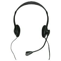 タイムリー HEADSET-A010BK ヘッドセット ブラック [φ3.5mmミニプラグ /両耳 /ヘッドバンドタイプ][HEADSETA010BK]