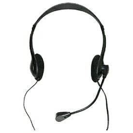 タイムリー TIMELY HEADSET-A010BK ヘッドセット ブラック [φ3.5mmミニプラグ /両耳 /ヘッドバンドタイプ][HEADSETA010BK]