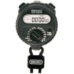 【送料無料】 セイコー デジタルストップウオッチ、タイマー付き(最小測定単位1/100秒) SSBJ018